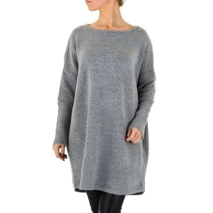 Damen Pullover von SHK Paris Gr. One Size - D.grey