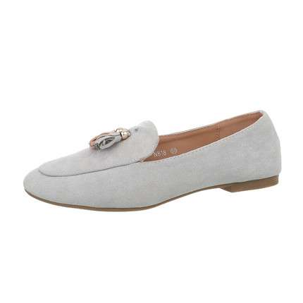 Damen Slipper - grey