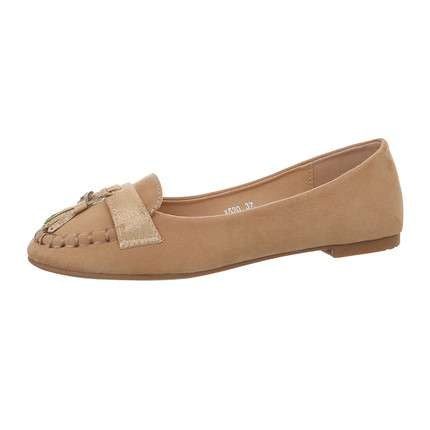 Damen Slipper - khaki