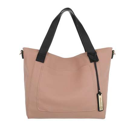 Damen Shopper-pink
