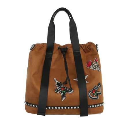 Damen Shopper-brown