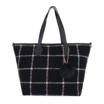 Damen Shopper-blue
