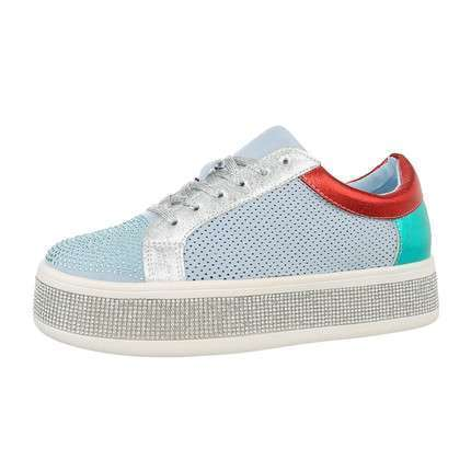 Damen Low-Sneakers - blue