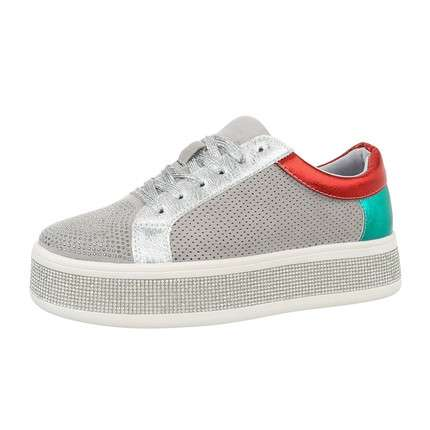Damen Low-Sneakers - grey