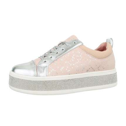 Damen Low-Sneakers - pink