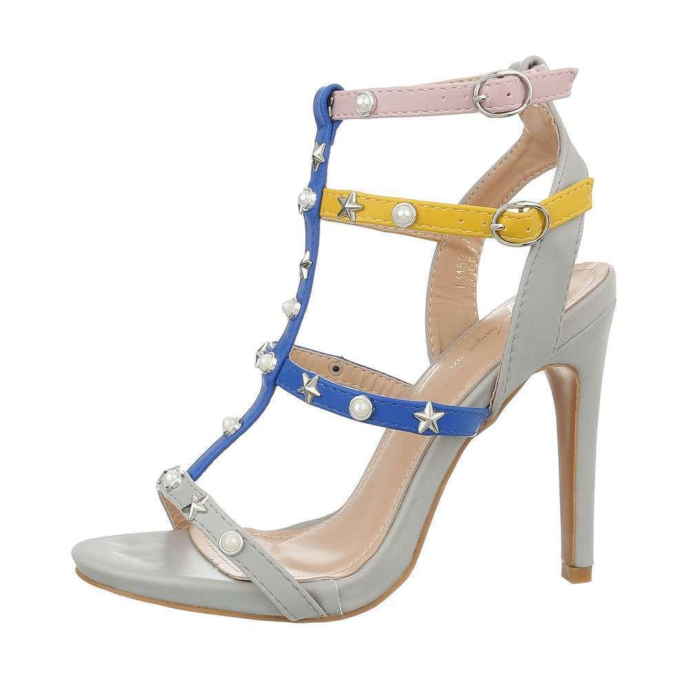Sandale de dama - gri - image 1