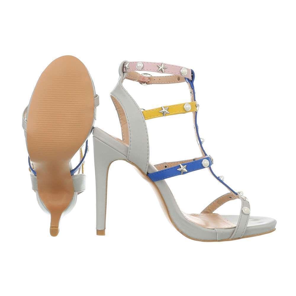 Sandale de dama - gri - image 2