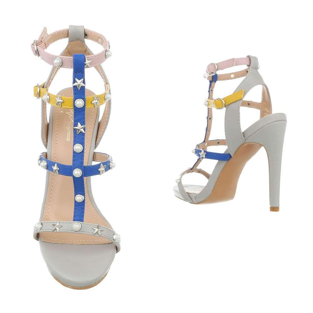 Sandale de dama - gri - image 3