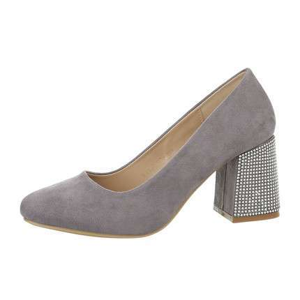 Damen High-Heel Pumps - grey