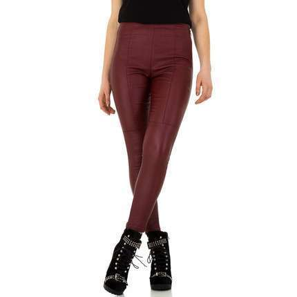 Damen Hose von Daysie - darkred