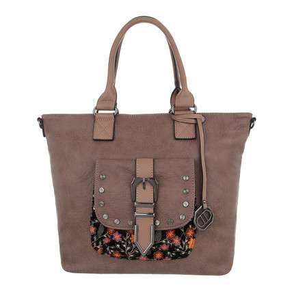 Damen Shopper-camel