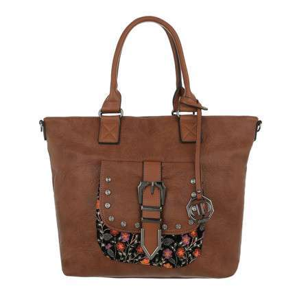 Damen Shopper-cuoio