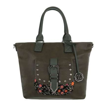 Damen Shopper-green