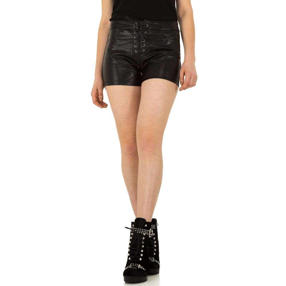 Pantaloni scurți din denimi de dama de la Daysie - negru