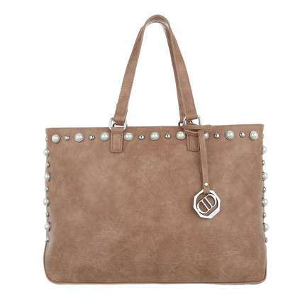 Damen Shopper-khaki