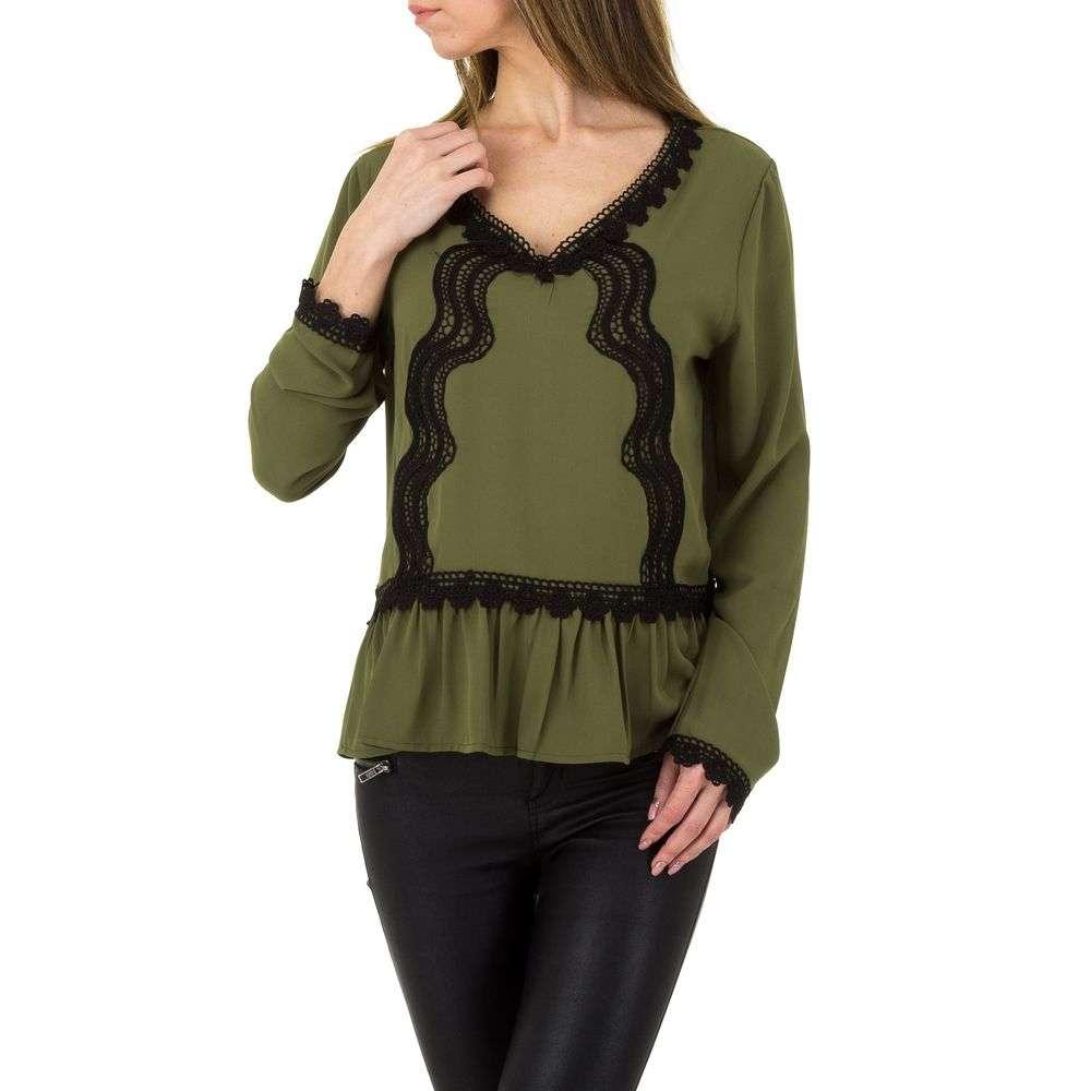 Bluză pentru femei de la Emmash Paris - verde verde