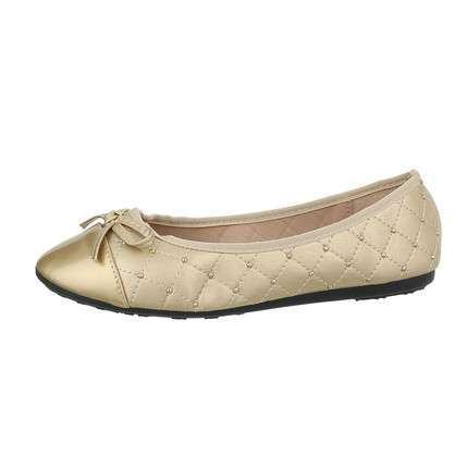 Damen Ballerinas - gold