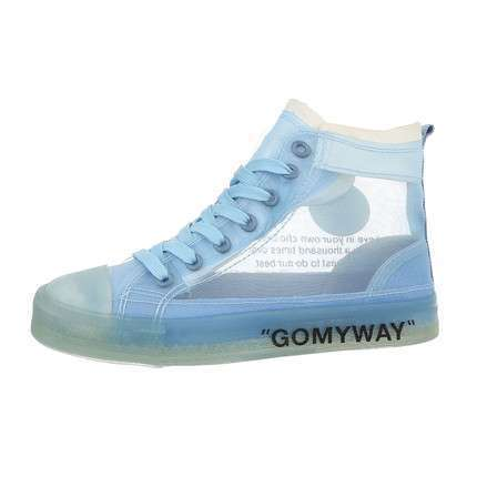 Damen High-Sneakers - blue