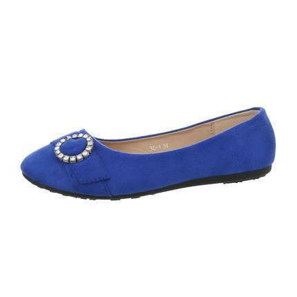 Damen Ballerinas - blue