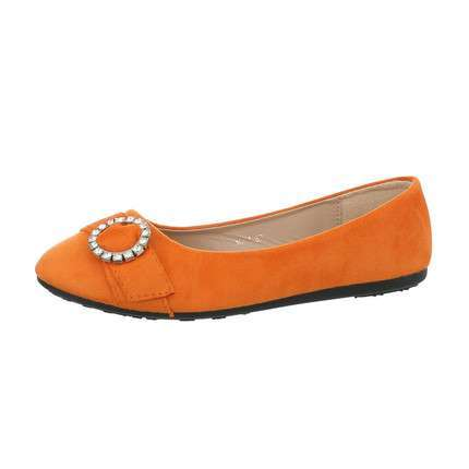 Damen Ballerinas - orange