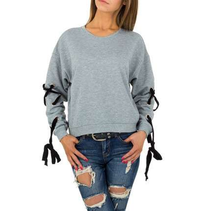 Damen Sweatshirt von JCL - grey