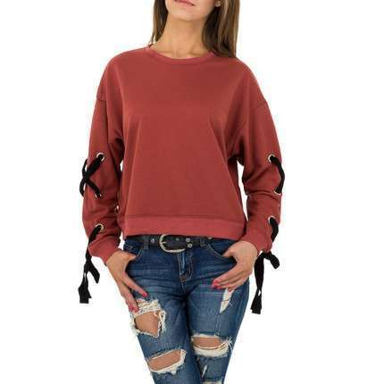 Damen Sweatshirt von JCL - red