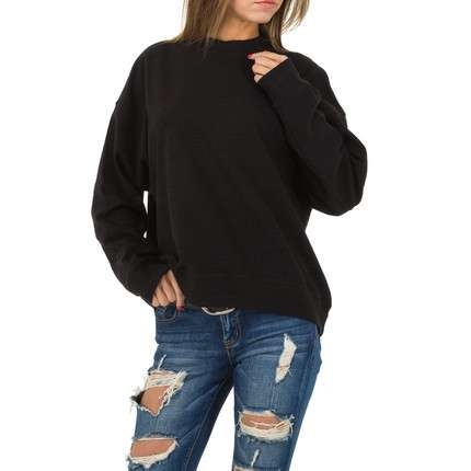 Damen Sweatshirt von JCL Gr. One Size - black