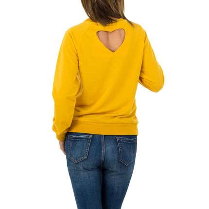 Damen Shirt von JCL - yellow