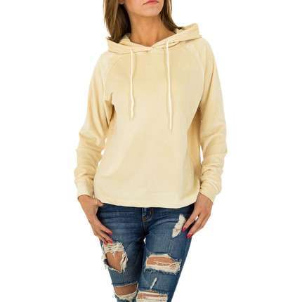 Damen Sweatshirt von JCL - cream