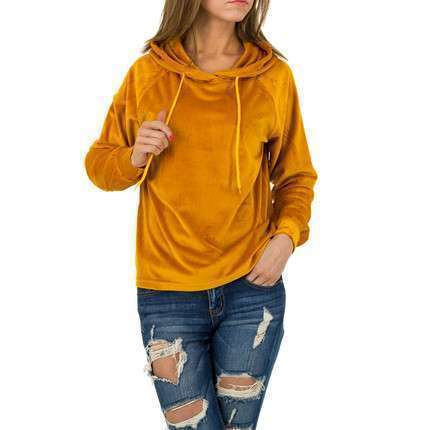 Damen Sweatshirt von JCL - orange