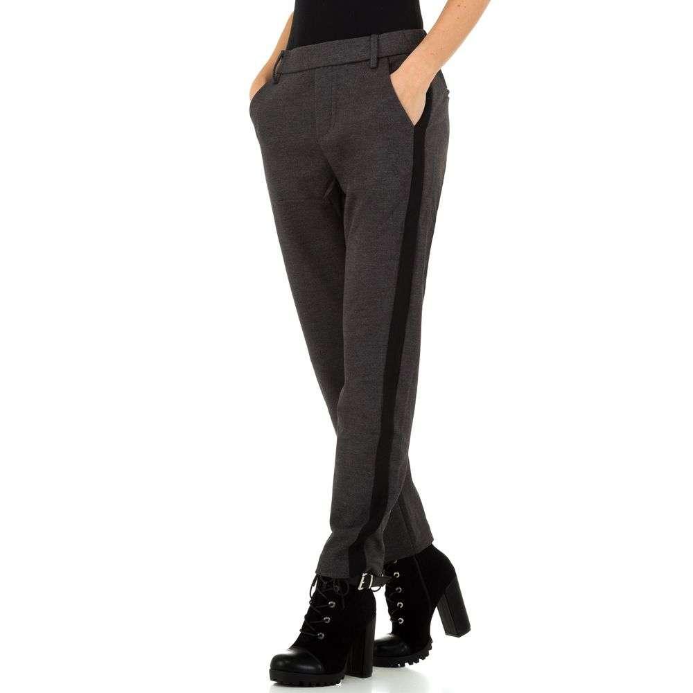 Pantaloni pentru femei de Laulia - gri inchis - image 1