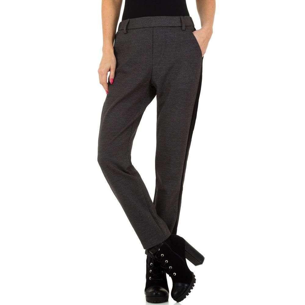 Pantaloni pentru femei de Laulia - gri inchis - image 2