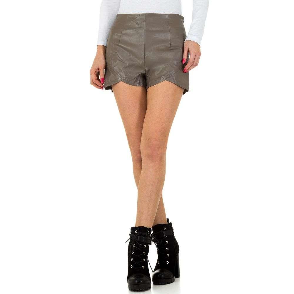 Pantaloni scurți de femei JCL - gri