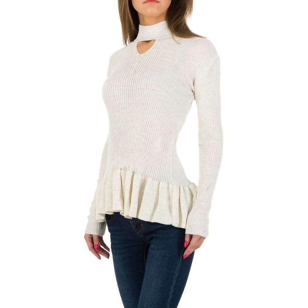 Pulover de dama de la Milas Gr. O mărime - alb murdar - image 2