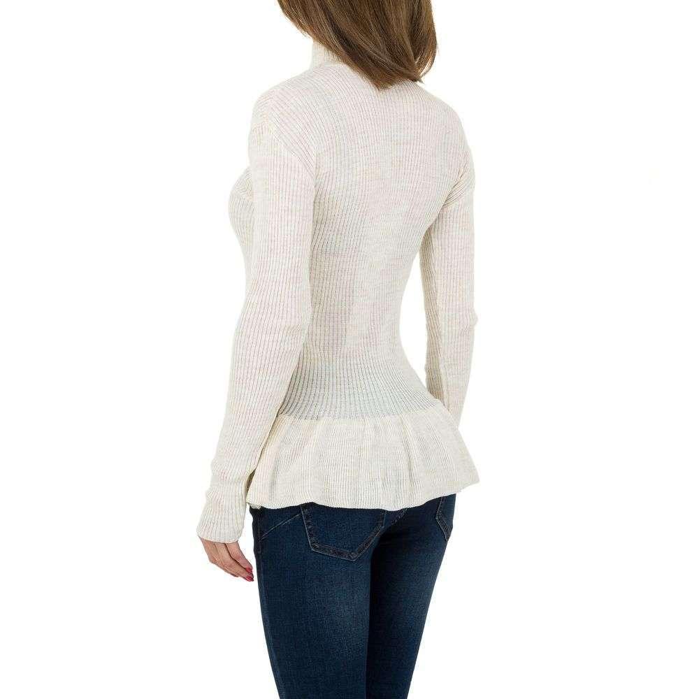Pulover de dama de la Milas Gr. O mărime - alb murdar - image 3