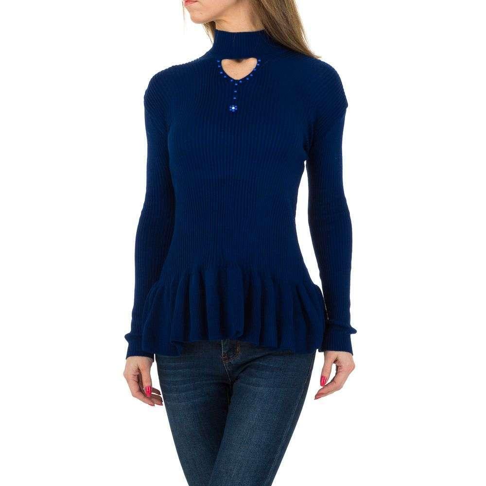 Pulover de dama de la Milas Gr. O singură mărime - albastru - image 1