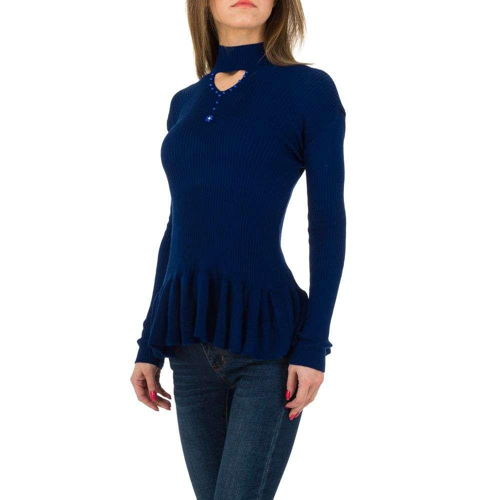 Pulover de dama de la Milas Gr. O singură mărime - albastru - image 2