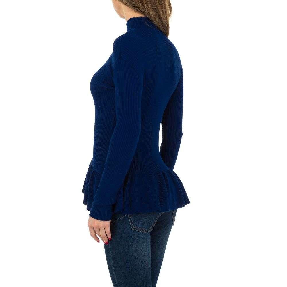 Pulover de dama de la Milas Gr. O singură mărime - albastru - image 3