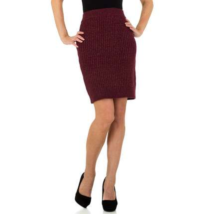 Damen Rock von JCL Gr. One Size - wine