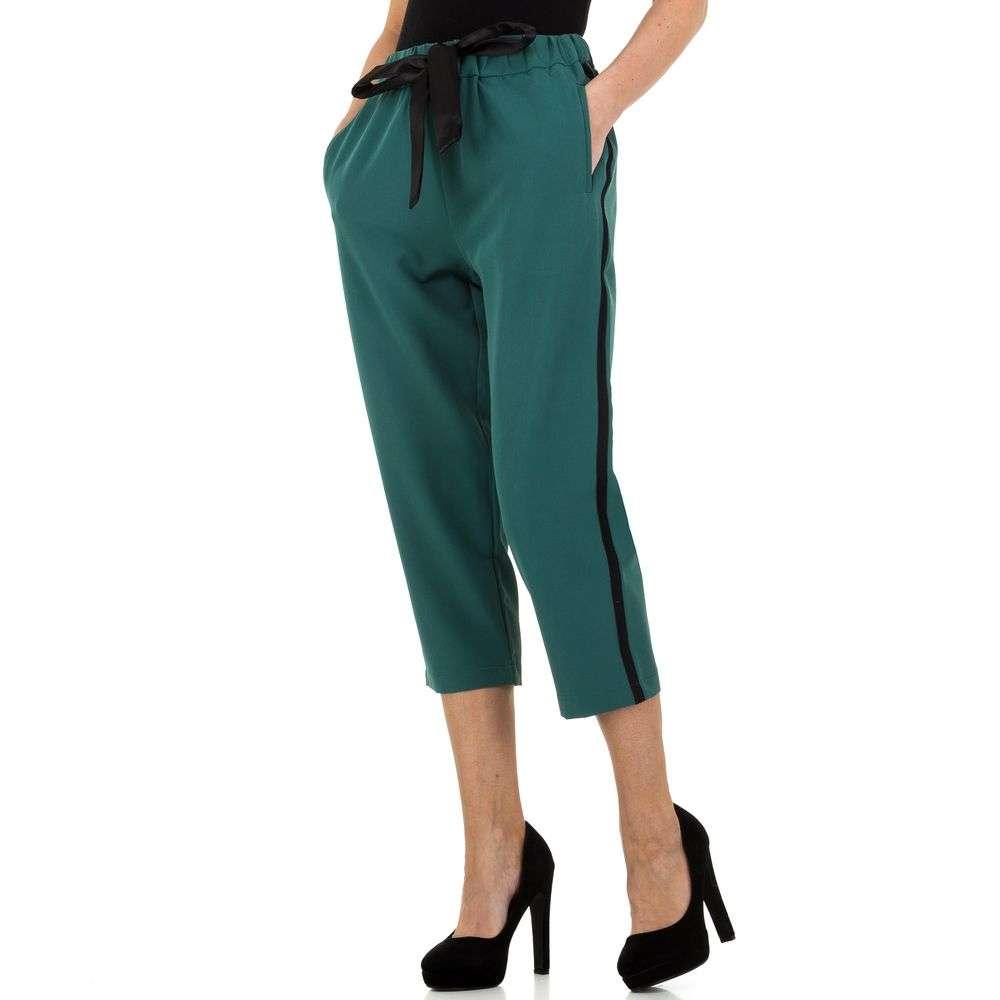 Pantaloni de dama de la JCL - verde