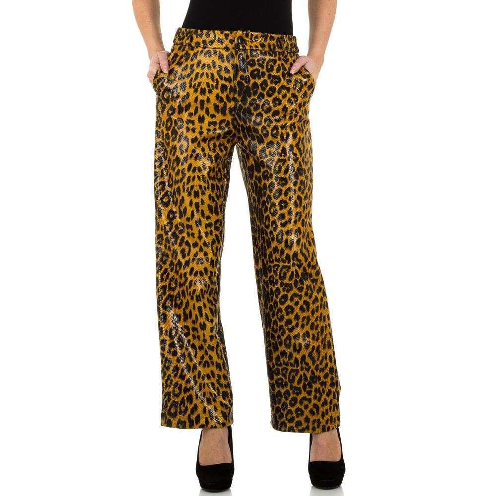 Pantaloni de dama de la JCL - leopard