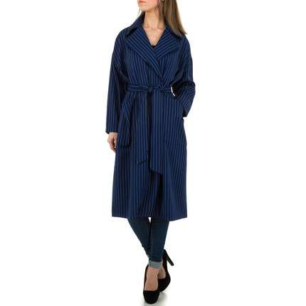 Damen Mantel von JCL Gr. One Size - D.blue
