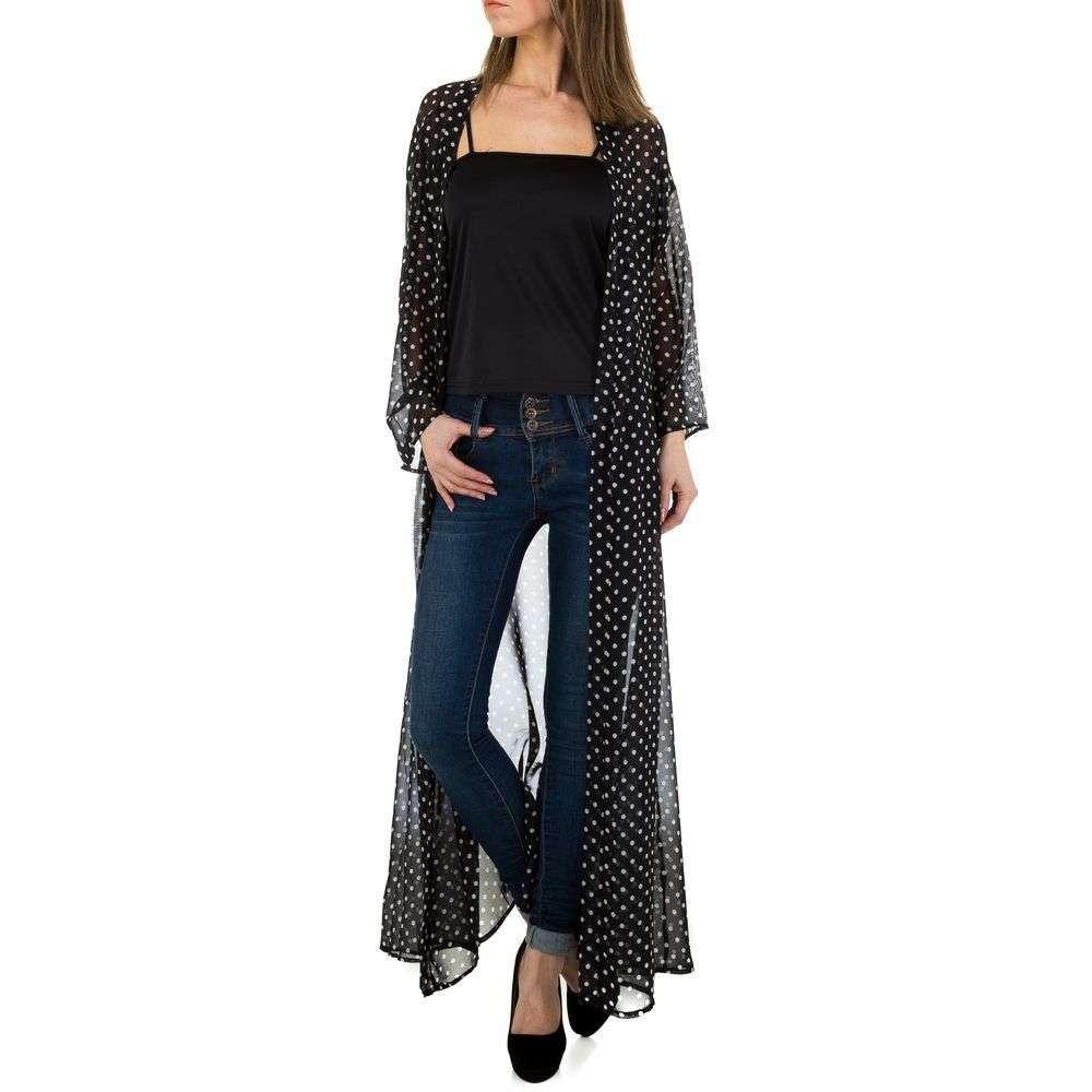 Bluză lungă de damă marca JCL - neagră