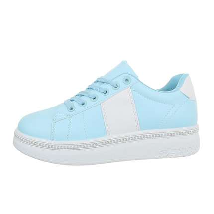Damen Low-Sneakers - bluewhite