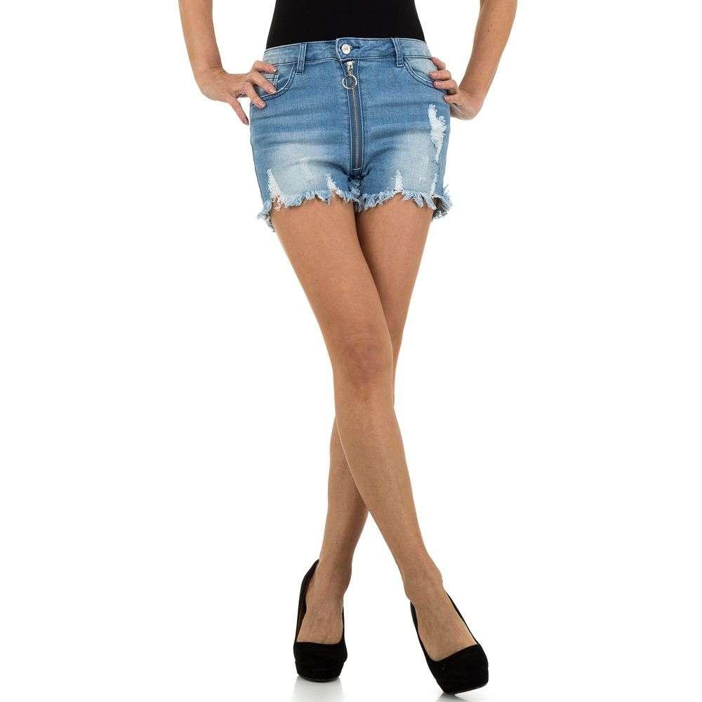 Pantaloni scurți din denimi de dama de la Daysie - albastru