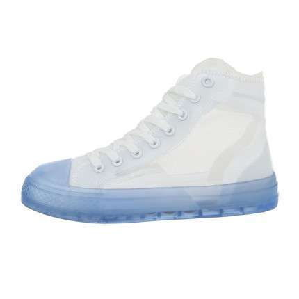 Damen High-Sneakers - whiteblue