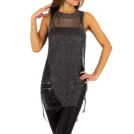 Damen Top von Emma&Ashley Design Gr. One Size - blacksilver