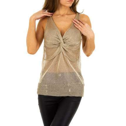 Damen Top von Emma&Ashley Design Gr. One Size - gold