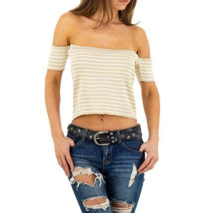 Damen Top von Emma&Ashley Design - beige