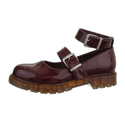 Damen Slipper - winered